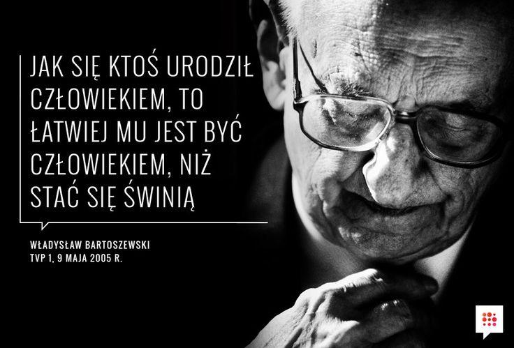 Mija rok od śmierci Władysława Bartoszewskiego.