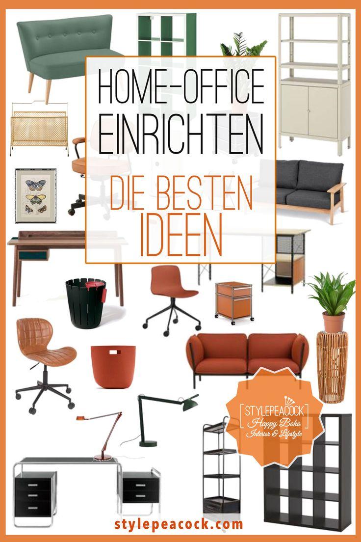 HOME-OFFICE EINRICHTEN: DAS GEHÖRT DAZU   in 2021   Home ...