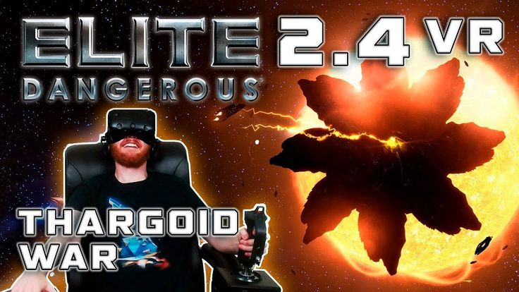 Elite: Dangerous 2.4 VR - Close encounters of the Thargoid kind  ||  VR gameplay from Elite: Dangerous update 2.4 The Return, showing off new Thargoids and how to fight them. Elite: Dangerous is a $29.99 space simulation game ... https://www.youtube.com/watch?v=BMmo3_hjDDA