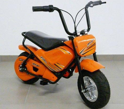 MOTO ELECTRICA PARA NIÑOS 24V - 250W 24V ORANGE - PKT250DH-2OR, IndalChess.com Tienda de juguetes online y juegos de jardin