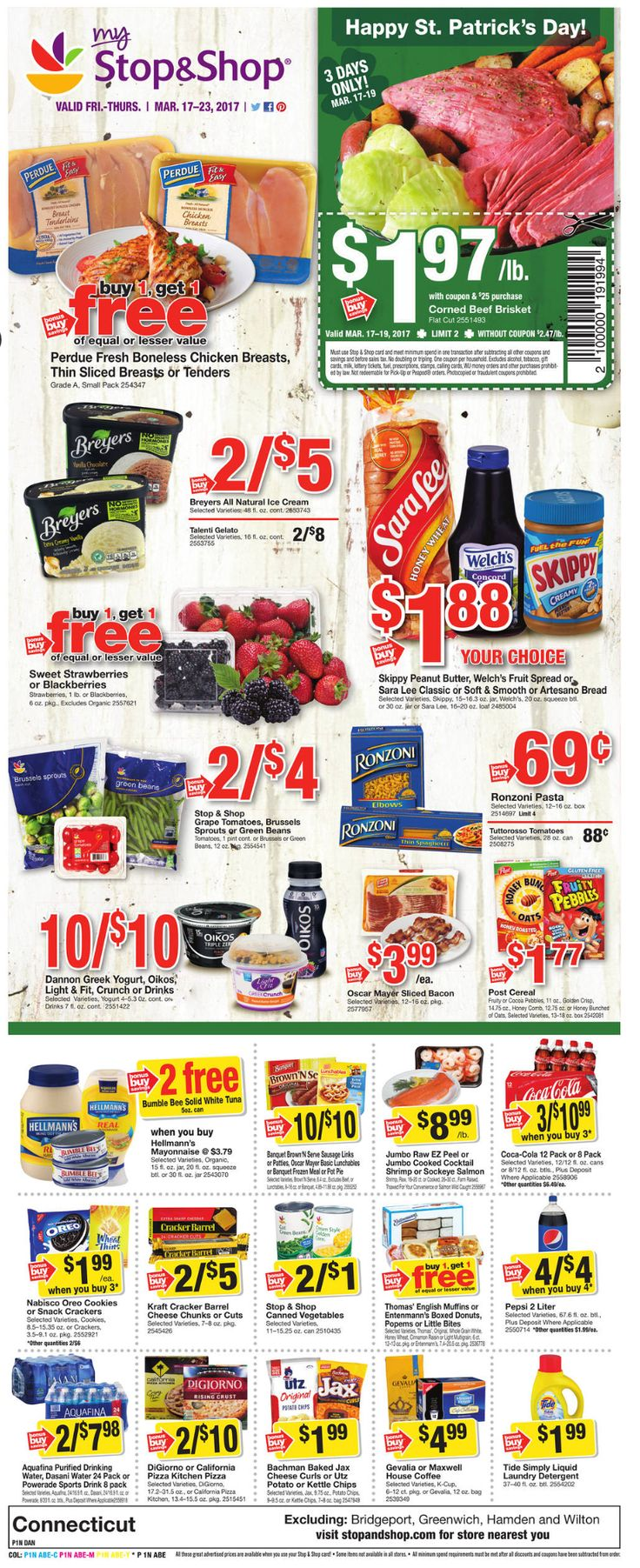 Stop and Shop Circular March 17 - 23, 2017 - http://www.olcatalog.com/grocery/stop-and-shop-circular.html