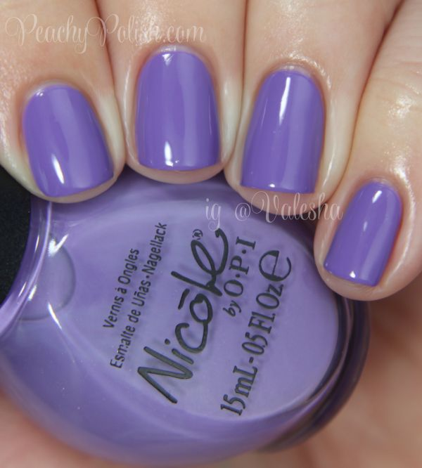 """Nicole by OPI """"Oh That's Just Grape!"""" - Peachy Polish"""