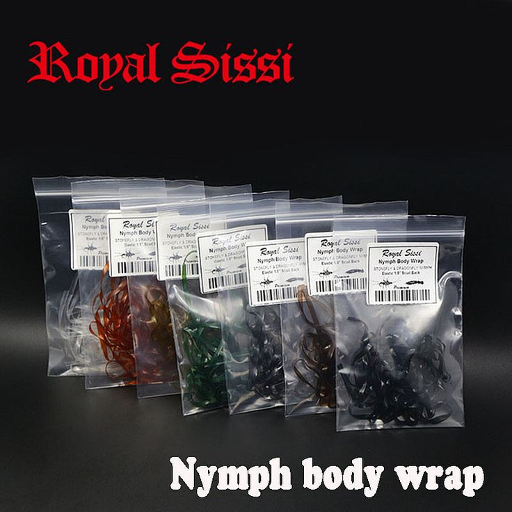 7colors/set nymph body wrap 1/8'' elastic &flex scud back/ synthetic fly tying material for stonefly &dragonfly nymph thin skin-in Fishing Lures from Sports & Entertainment on Aliexpress.com | Alibaba Group
