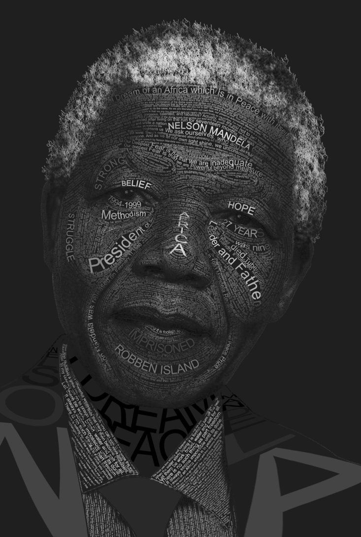 "♥ Nelson Mandela ♥ ""No one is born hating another person because of the color of his skin, or his background, or his religion. People must learn to hate, and if they can learn to hate, they can be taught to love, for love comes more naturally to the human heart than its opposite."""