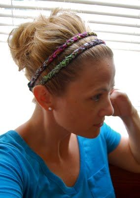 Double braided head band tutorial. Sooo want to make this!
