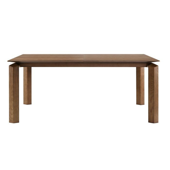 Carnforth Mid Century Extension Dining Table Allmodern Extension Dining Table Dining Table Modern Dining Table