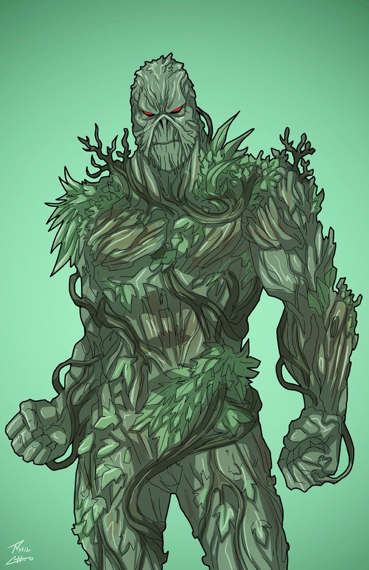 """Swamp Thing"" sponsored by an anonymous backer for Roysovitch's Earth-27.Concept/Design by Roy Westerman Character Owned by DC ComicsFB page for Earth-27: www.facebook.com/Earth27ProjectGo..."