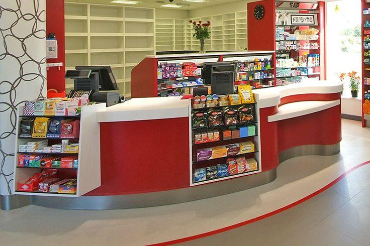 Pharmacy Counter Design   Bespoke solutions - Rapeed