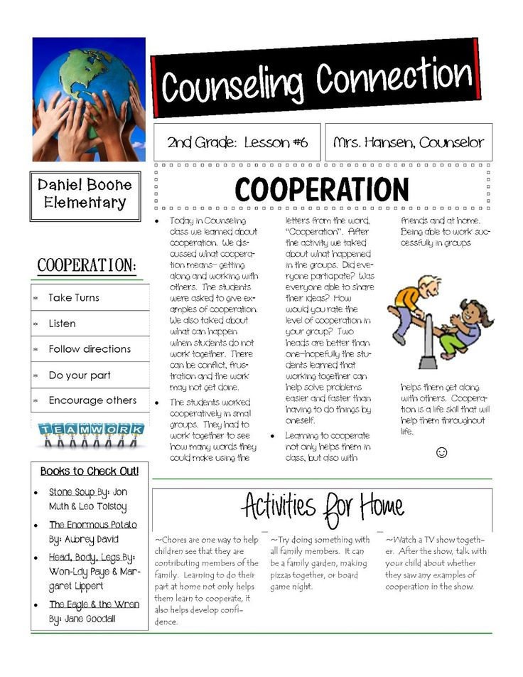 Best Parent Newsletters Images On   Parent Newsletter