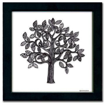 Tree Pen & Ink - eclectic - Prints And Posters - Paper Scissors Rock $35