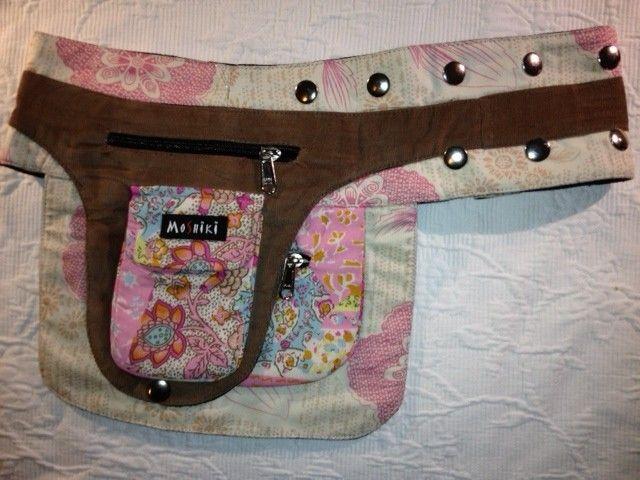 Moshiki Hüfttasche Bon Bon mit praktischen Unterteilungen für Handy & co 264…