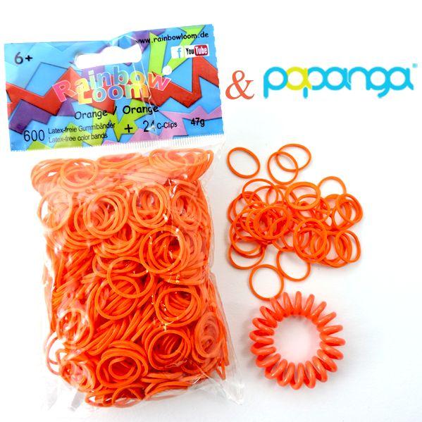 Papanga BIG Haargummi & Armband Coral - das Original 002