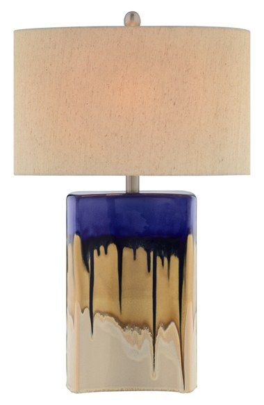 Free shipping and returns on JAlexander Lighting Ceramic Table Lamp at Nordstrom.com. Dripping bands of colorblockedglaze lend artistic allure to a glossy ceramic table lamp topped with a neutral shade.
