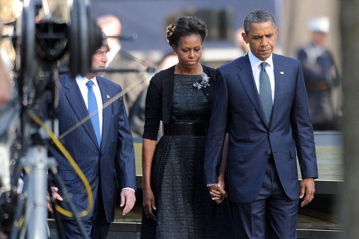 Michelle Obama Little Black Dress