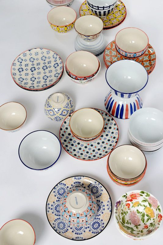 Heal's Update Your Space | Add vibrancy to your kitchen space with Pols Potten bowls and plates