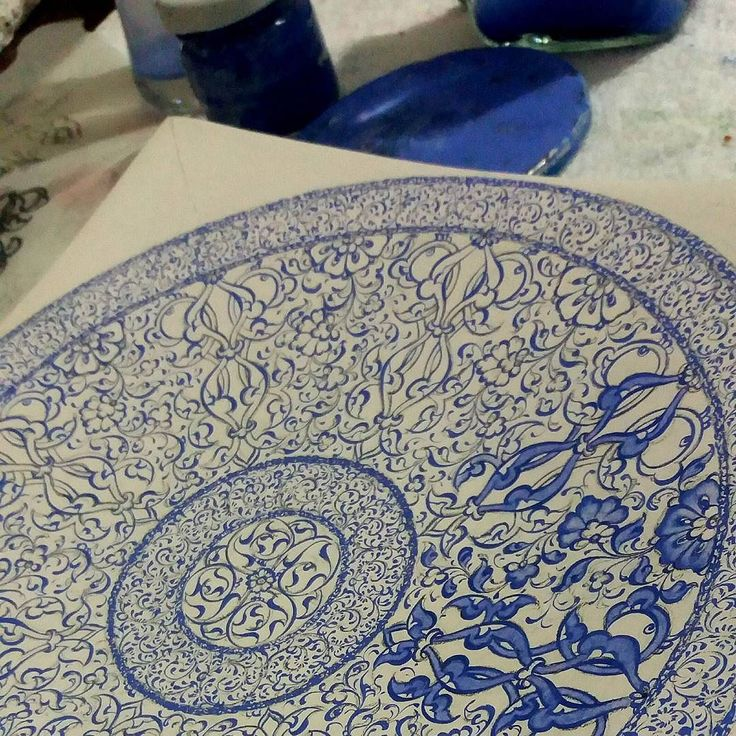 Yani çalışma..#iznikçini #ıznik #rumi #lotusflower #lotus #mavi #çini #tile #tiles #mywork #mydesign #art #artwork #handmade #elyapimi #benimişim #tasarım #haliçişi #ceramic #tasarım #seramik #creative #tahrir #kontur #samurfirça by niliferocak