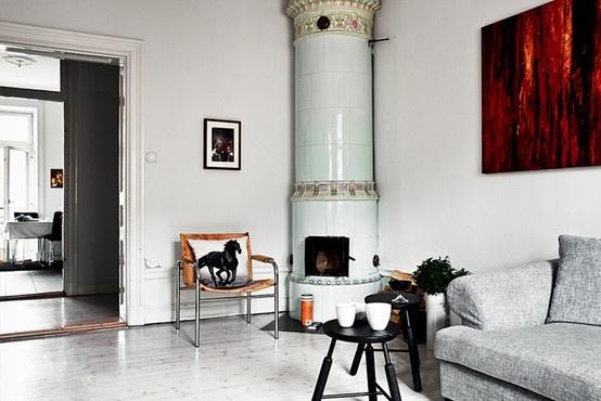 fireplace / my sand home