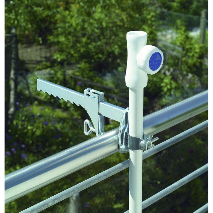 Pince De Fixation Balcon Argent Schneider Balcon Parasol Balcon