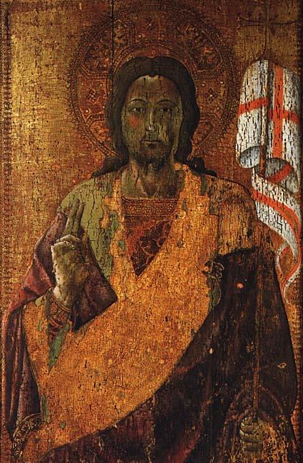 Alvaro Pires de Évora - Cristo  Ressuscitado -   Szépmüvérzeti Museum - Budapest Ungheria