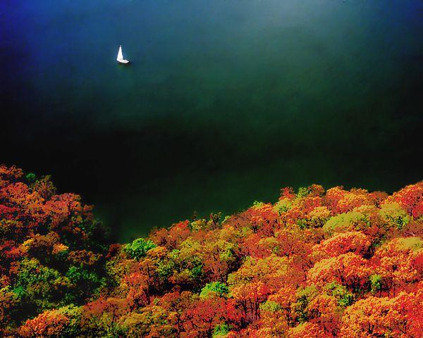Gentle Breeze http://fineartamerica.com/products/autumn-breeze-don-spenner-framed-print.html