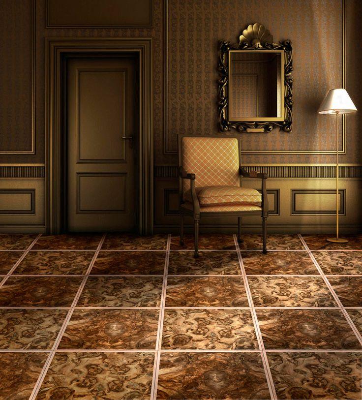 Pavimento in radica di noce centrata e a palladiana con listello perimetrale #design #interiors #parquet #madeinitaly #home #wood