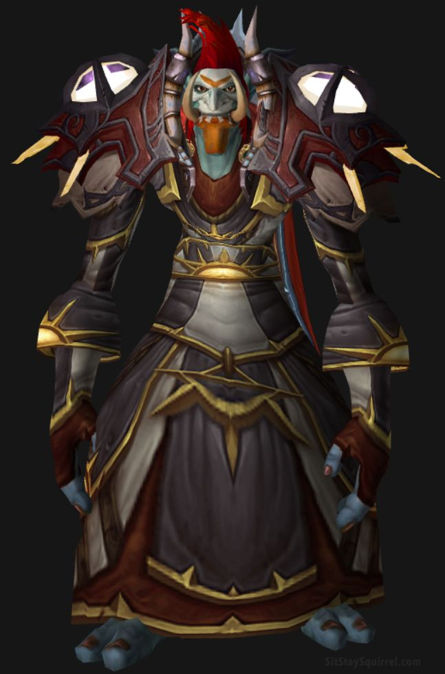 WoW Troll Male Frost Mage Artifact Transmog