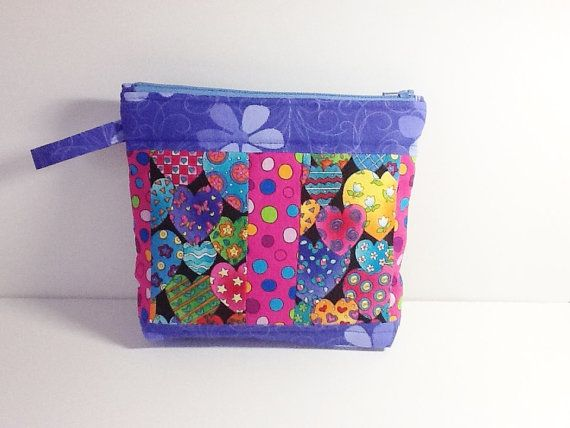 Kids Pouch  Back to School Purse  Children by Love2quilt on Etsy