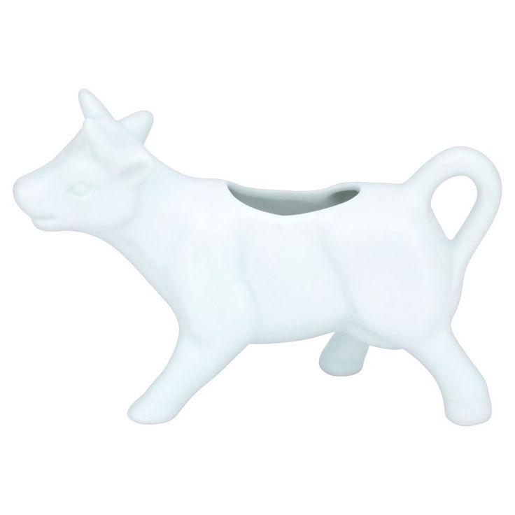 Milk Jug Cow Shaped White. £4.00.
