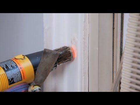 65 best installation tutorials tips images on pinterest for Heat gun to remove paint