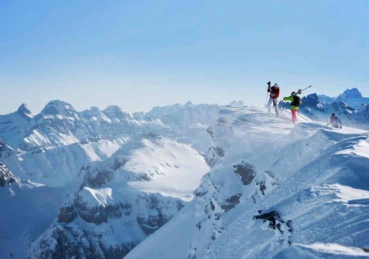 Vorab glacier, Laax Flims Falera, Graubunden, CH - when it's open it's real fun :-)