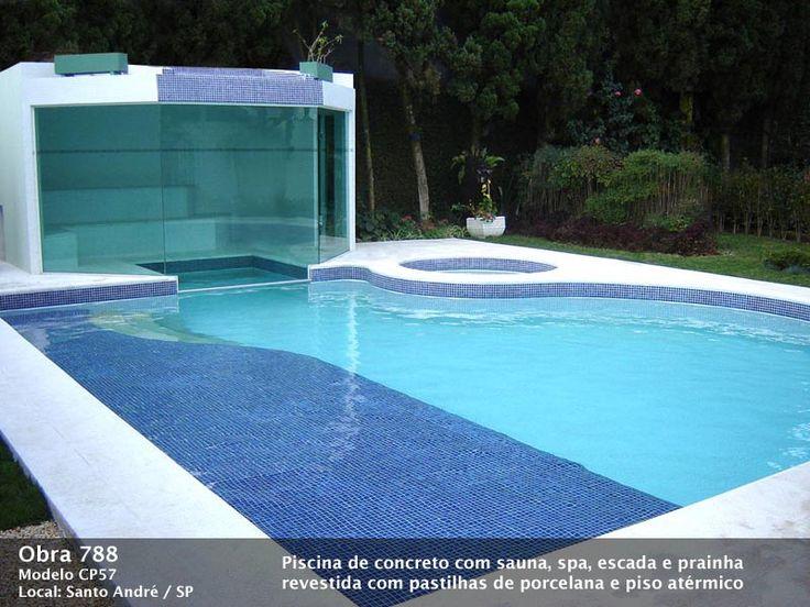 Pin piscinas de alvenaria on pinterest - Piscinas en el campo ...