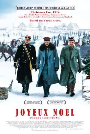 Directed by Christian Carion.  With Diane Kruger, Benno Fürmann, Guillaume Canet, Natalie Dessay. On Christmas Eve during world War I, the Germans, French, and Scottish fraternize and get to know the men who live on the opposite side of a brutal war, in what became a true lesson of humanity.