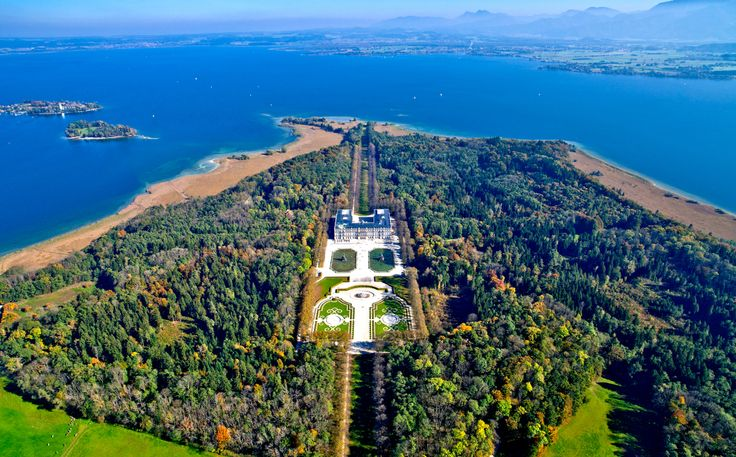 Palace of Herrenchiemsee (Herrenchiemsee is a complex of ...