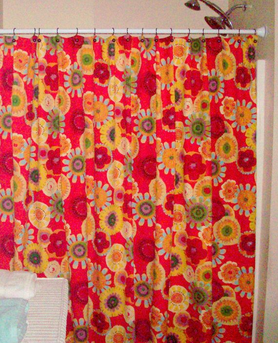 75 best custom shower curtains, drapes and window toppers images ...
