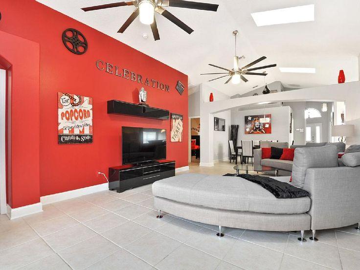 Wonderful Vacation Rental Home Villa Orlando Florida avec The Luxury Villas Orlando.com  #vacation #rental #travel #vrbo #walt #disney #world #orlando #florida #universal #universalstudios #mickey #mouse
