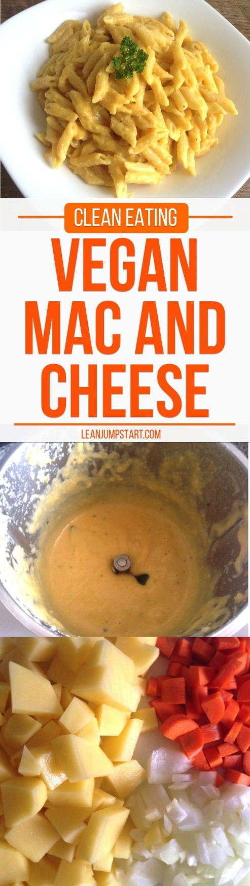 This quick homemade mac and cheese recipe - vegan style is ...