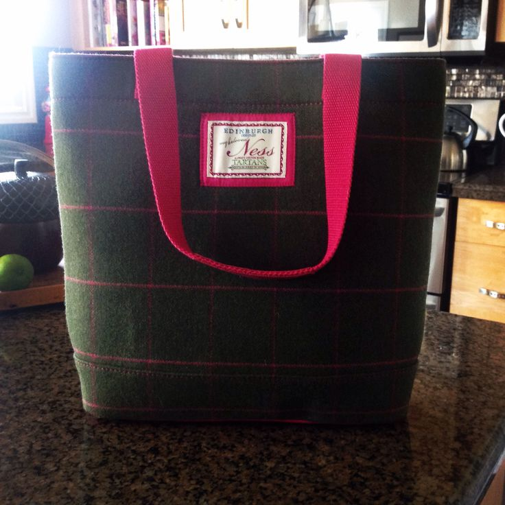 My beautiful Ness bag from Edinburgh.  Great for fall!