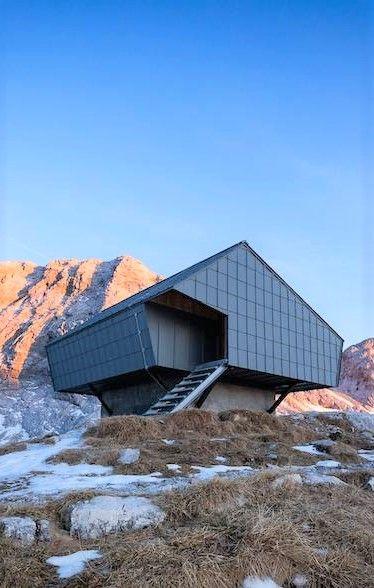 Former Bunker Transformed in Design Shelter