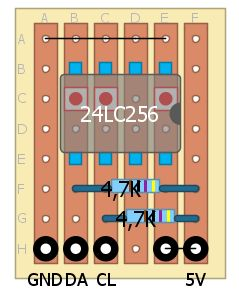 The 24LC256 EEPROM: The Microchip 24LC256 is a 32K x 8 (256 Kbit) Serial Electrically Erasable PROM, capable of operation across a broad voltage range (1.7V to 5.5V). It has been developed for adva...