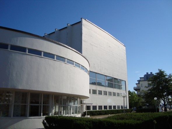 Sven Makelius, Helsingborg Concert Hall, 1930:s funktionalism.
