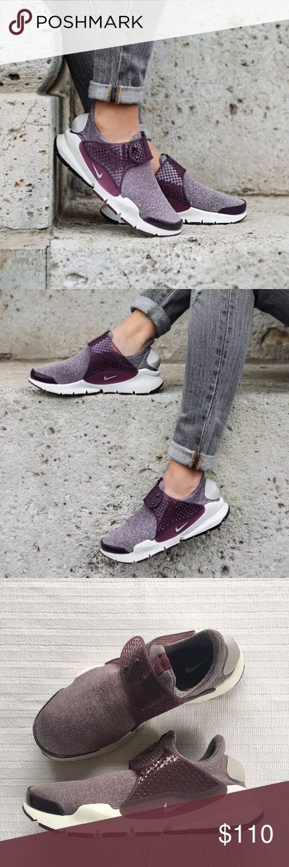 Women's Nike Sock Dart SE Low Running Sneakers Women's Nike Sock Dart SE Low Running Sneakers takes a minimalist approach with a stretchy knit upper designed for a comfortable feel and a streamlined look. Style/Color: 862412-600  * Women's size 7  * NEW in box (no lid) * No trades * 100% authentic Nike Shoes Sneakers