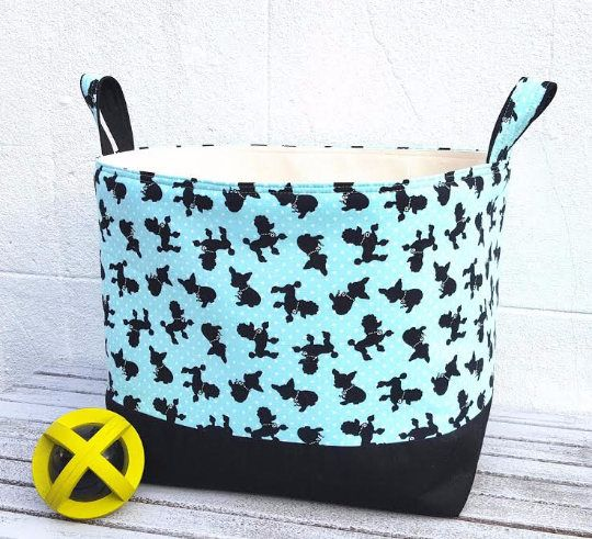 LARGE STORAGE BAG Dog Toys Basket Organiser Container Sturdy