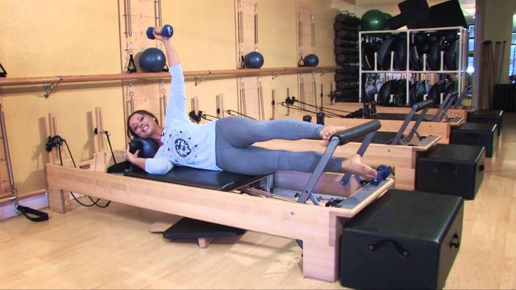 Work Out Your Booty on the Pilates Reformer   Club Pilates