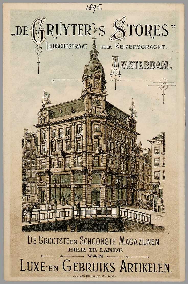 De Gruyter's Store in Amsterdam:Oude Hollandse reclameposters