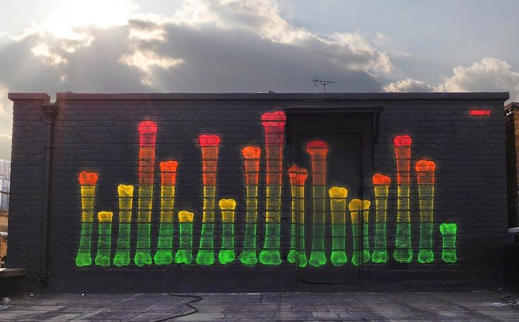 """""""What Your Soul Sounds Like"""" new by Shok-1, East London rooftop, 4/15 (LP)"""