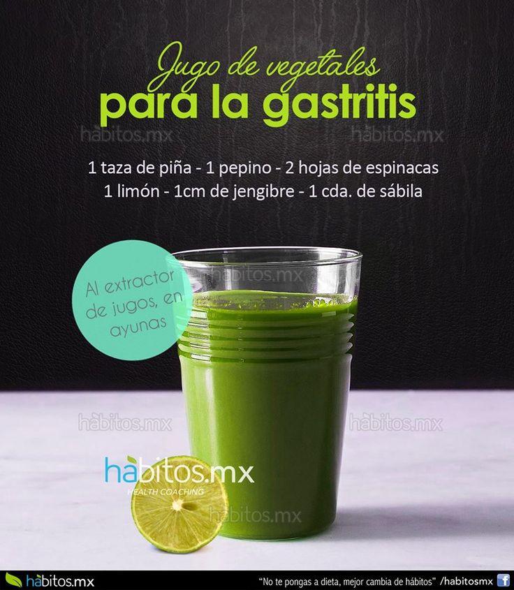 Hábitos Health Coaching | Un jugo para la gastritis….!!