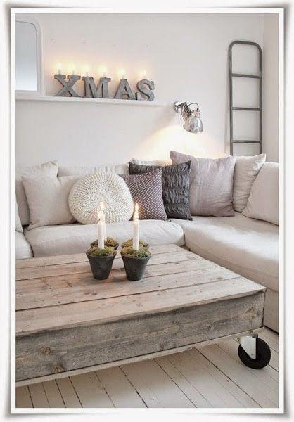 Small&LowCost un palet en mi salón | Decorar tu casa es facilisimo.com