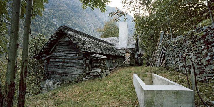200-Year-Old Farmhouse Hides Underground Modern Stone House | Buchner Brundler Architekten | CountryLiving.com