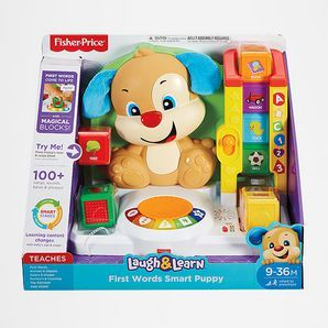 The Laugh & Learn First Words Smart Puppy teaches your little one first words with fun songs, sounds, phrases and exciting hands-on activities! When...