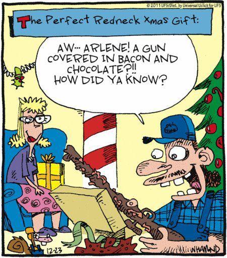 Garden Party - Le Blog de Thierry Cattant: Merry Christmas! |Redneck Christmas Cartoons